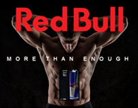 Red Bull Billboard Design
