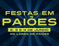 Festas em Paiões 2017   Poster