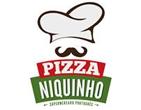 Marca e Anuncio | Pizzaria Niquinho