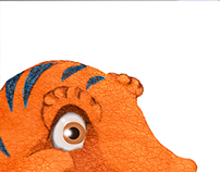 T-Rex Kids Poster