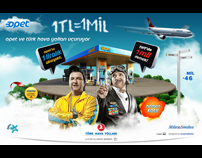 Opet & Turkish Airlines Campaign Microsite