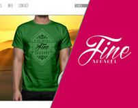 Fine Apparel - Authentic Clothing Brand