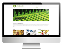 Vital Body Health Responsive Web Design