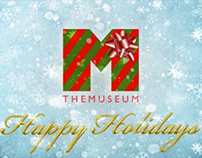 Happy Holidays from THEMUSEUM GIF