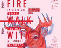 AFICHE CONCURSO - Fuego Camina Conmigo -
