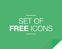 Set of 13 Free Minimal Icons