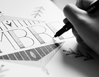 Hand Lettering: Ombre