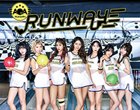 AOA JPN single album 'RUNWAY' cover.