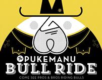Pukemanu Bullride Poster