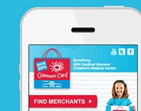 MOBILE WEBSITE DESIGN / Glennon Card