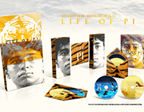 Life of Pi DVD Package Design