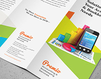 Accounting & Bookkeeping Services Trifold Brochure