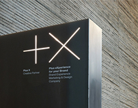 Plus X Creative Partner Identity Design