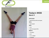 CrossFit Denton Website Remodel