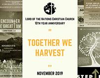 Church 10th Year Anniversary