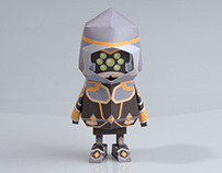 [ LOL ][ Master Yi ] Paper toy of Boogiehood