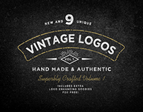 Vintage Logo Bundle Vol.1