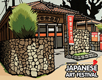 Japanese Art Festival - Graphic design and Branding