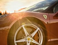 Ferrari 458 Italia Shooting