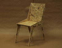The Hemp Chair & Lamp