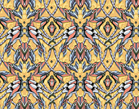 Wallpaper pattern design 20 Edouard Artus ©2014