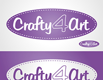 Crafty4Art - Logo Concepts