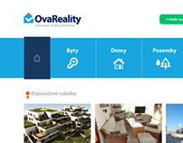 OvaReality.cz website