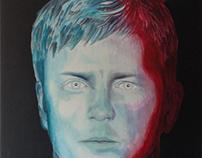 Kimi Räikkönen painting timelapse