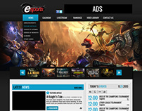 Garena PH eSports Website