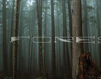 Forest Custom Lettering