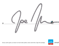 People for Bikes - Signature Campaign