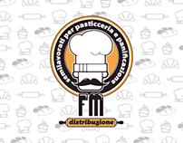 FM Distribuzione logo design