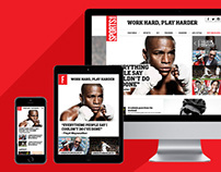 Forever Sports responsive site design
