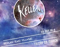 Kellen Flyer + Promo
