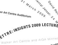 Lecture Series In Typographic Systems