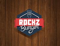 Rockz Burger Branding