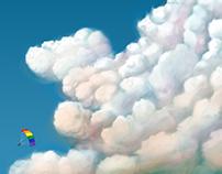 Bulutlar arasında