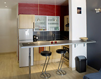My own architecture work : Appartement T, Marseille