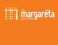 Hotel Margaréta arculattervezés, web design