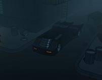Batman TAS Batmobile