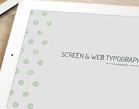 Screen & Web Typography