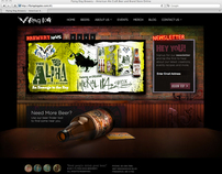 Flying Dog Breweries - Website Redesign