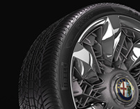 Alfa Romeo Pandion wheel