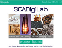 SCAD DigiLab Redesign