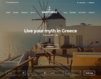 Santorini Hotel Theme