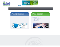 Earth networks landing page