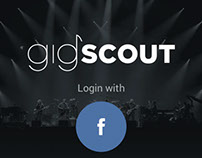 gigscout iOS App UI