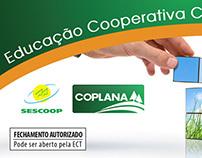 Folder Educação Cooperativa Coplana