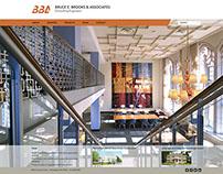 Bruce E. Brooks & Associates – Identity and Website