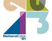 Commencement Banner// Montserrat College of Art 2013